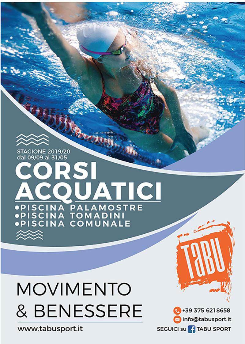 Corsi di nuoto e acquagym a Udine stagione 2019-2020