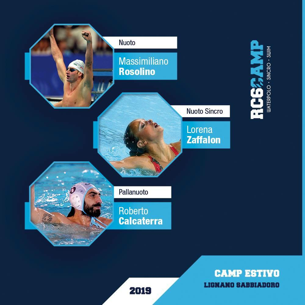 RC6 camp pallanuoto Lignano 2019