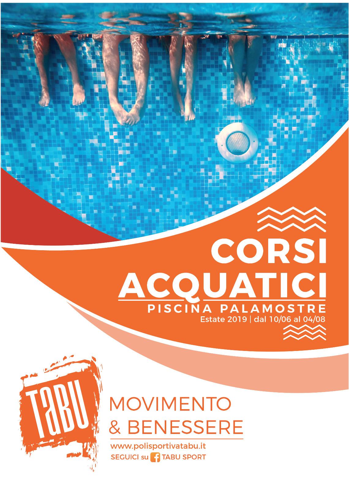 Corsi acquatici a Udine estate 2019