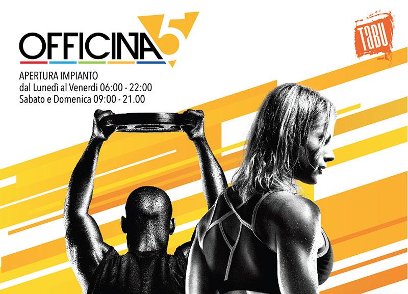 Apertura nuovo palestra OFFICINA5 a Moimacco