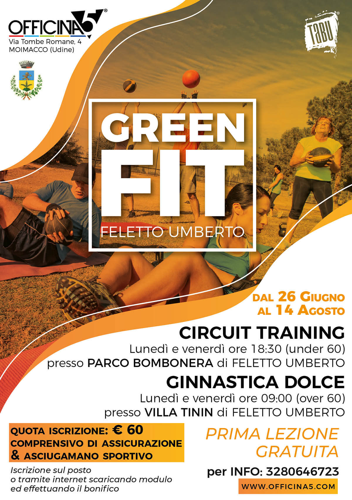 GREEN FIT Feletto Umberto