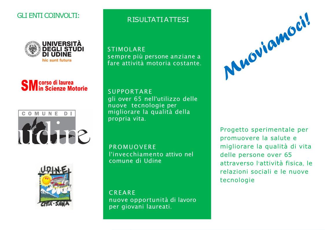 Progetto MUOVIAMOCI: Attività fisica per promuovere il benessere delle persone anziane.