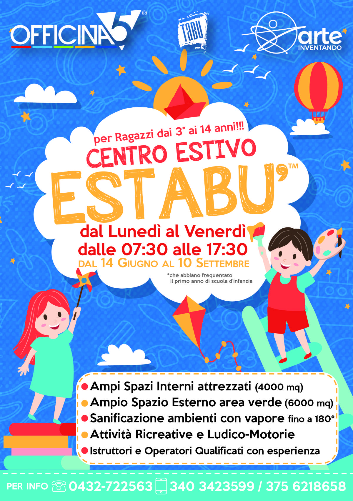 Centro vacanze EsTaBù a Moimacco, Pradamano, Premariacco e Cividale